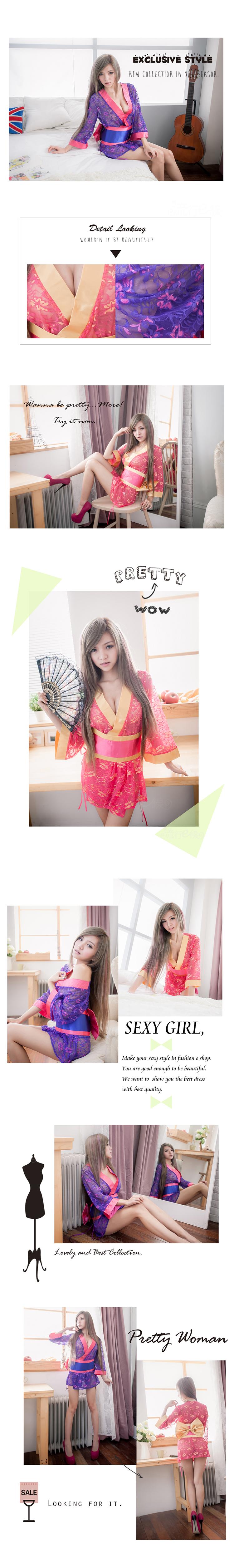cosplay 角色扮演 派對服 性感和服