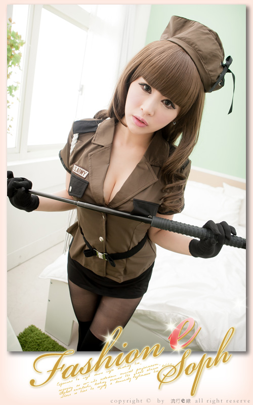 COSPLAY服裝 女警制服 角色扮演服 空姐制服 軍警服