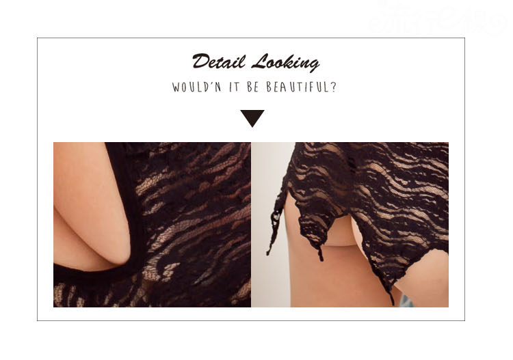 情人節 情趣內衣褲 性感裸背內衣褲 蕾絲睡衣